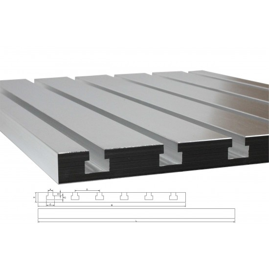 T-slot Plate 6050